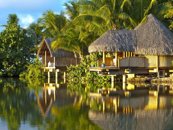 Le Tahaa Island Resort and Spa Lobby View