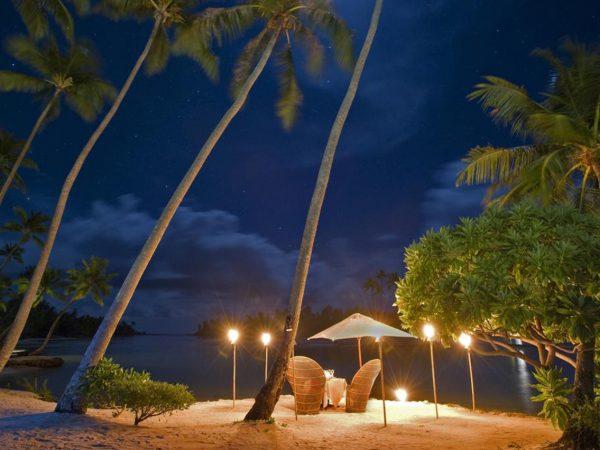 Le Tahaa Island Resort and Spa Night View