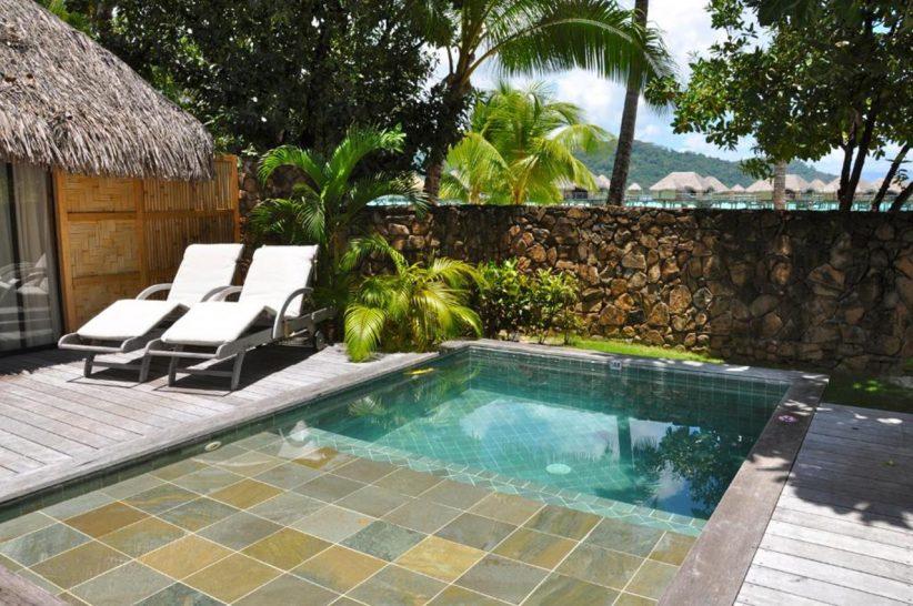 Le Tahaa Island Resort and Spa Pool Beach Villa