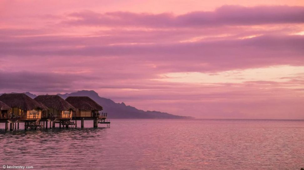 Le Tahaa Island Resort and Spa Sunset Overwater Suite
