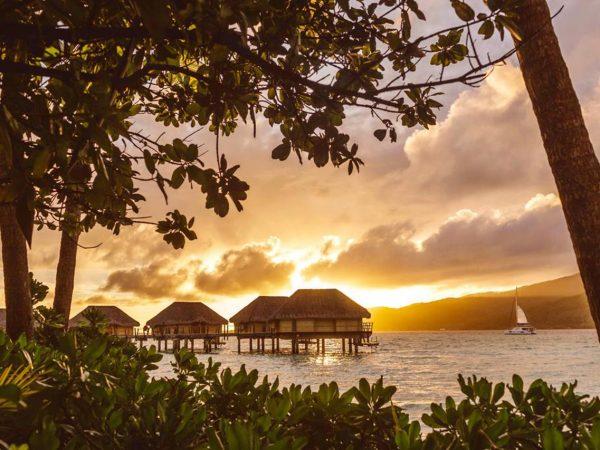 Le Tahaa Island Resort and Spa Sunset View
