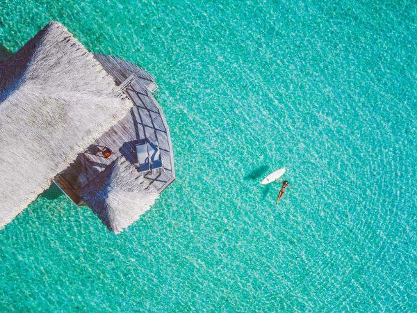 Le Tahaa Island Resort and Spa Top View