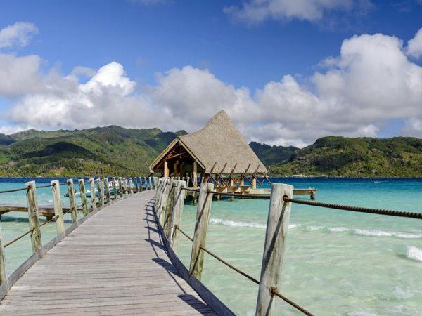 Le Tahaa Island Resort and Spa View