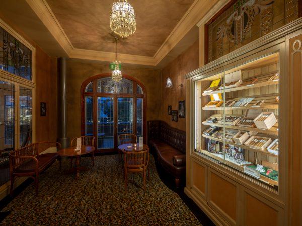Lenkerhof Gourmet Spa Resort Davidoff Cigar Lounge