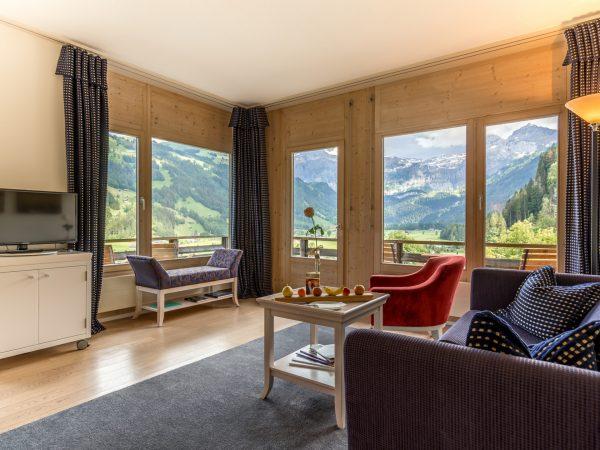 Lenkerhof Gourmet Spa Resort Loft Corner Suite