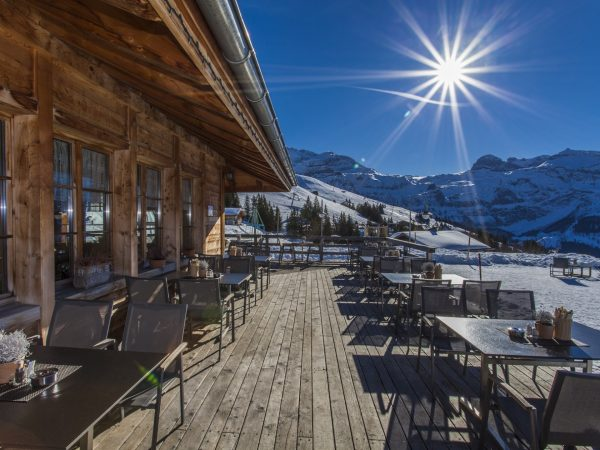 Lenkerhof Gourmet Spa Resort Mountain restaurant Bhlberg