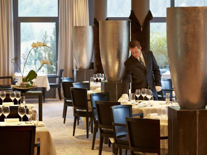 Lenkerhof Gourmet Spa Resort Restaurant Spettacolo