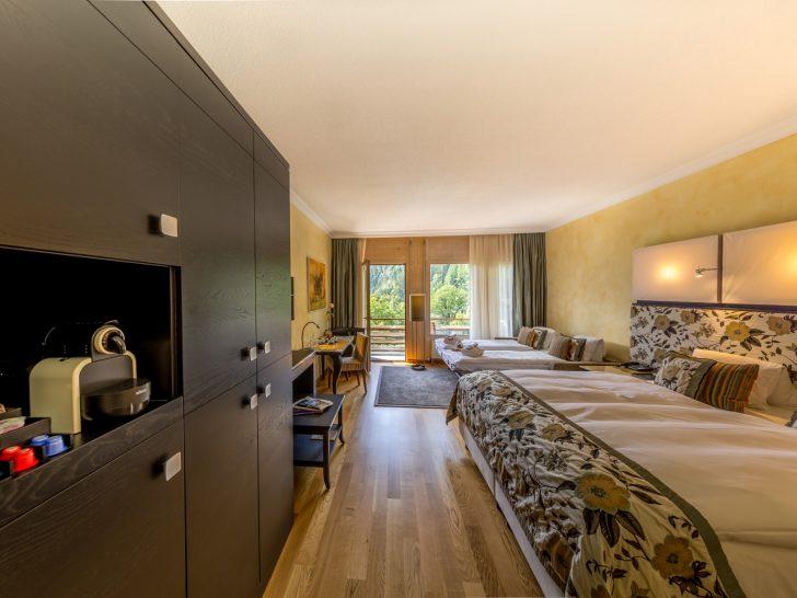 Lenkerhof Gourmet Spa Resort Rooms with sofa bed
