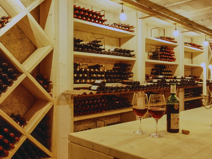 Lenkerhof Gourmet Spa Resort Wine cellar