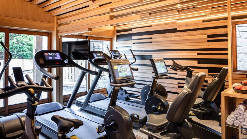 Les Chalets du Mont d Arbois Megeve Four Seasons Hotel Gym