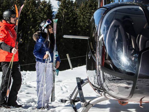 Les Chalets du Mont d'Arbois Meg?ve Take a Heli Ski Safari