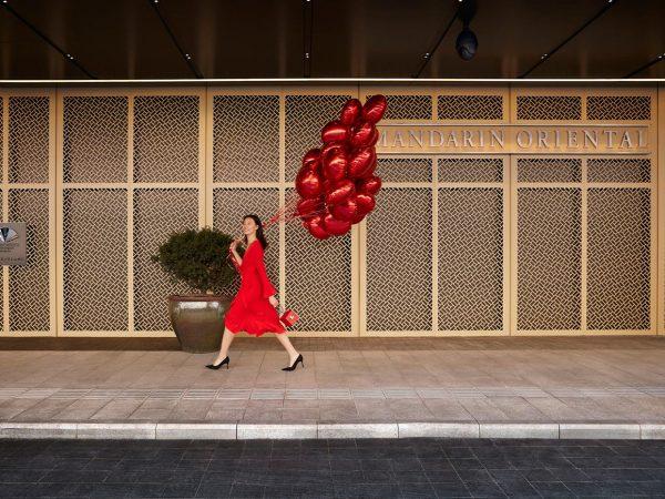 Mandarin Oriental Wangfujing Beijing Arrival Balloons