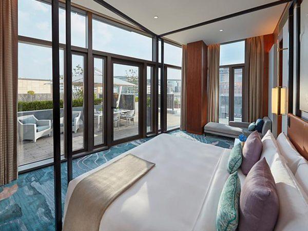 Mandarin Oriental Wangfujing Beijing Garden Suite