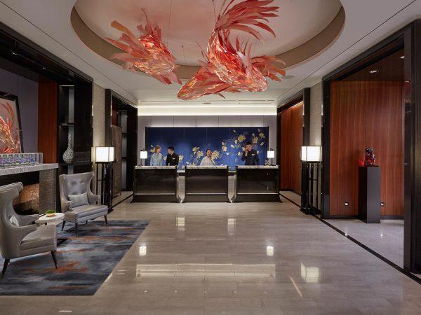 Mandarin Oriental Wangfujing Beijing Hotel Lobby