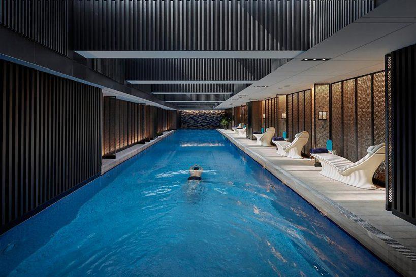 Mandarin Oriental Wangfujing Beijing Indoor Pool