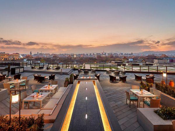 Mandarin Oriental Wangfujing Beijing Terrace View