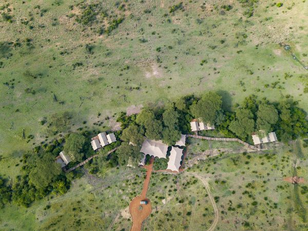 Mara Nyika Great Plains Conservation Aerial View