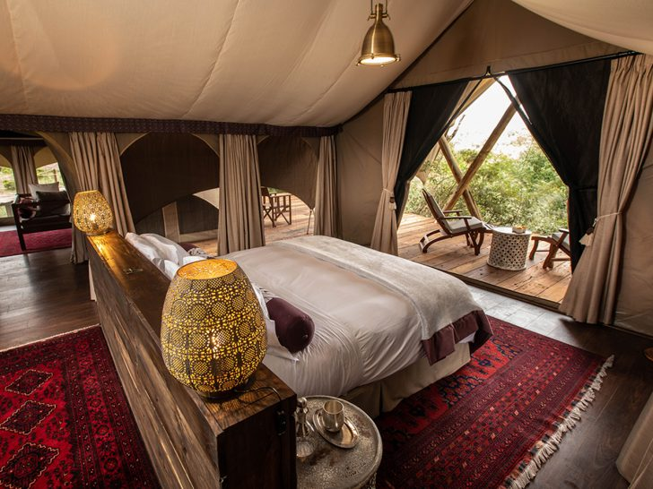 Mara Nyika Great Plains Conservation Bedroom