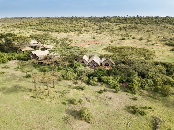 Mara Nyika Great Plains Conservation Camp View