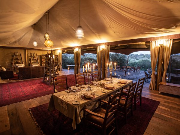 Mara Nyika Great Plains Conservation Dining