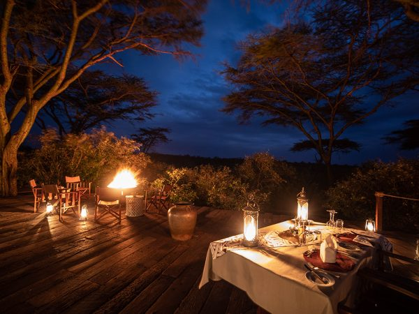 Mara Nyika Great Plains Conservation Dining Food
