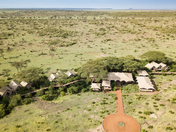 Mara Nyika Great Plains Conservation Top View