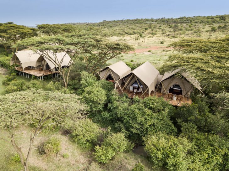 Mara Nyika, Maasai Mara Aerial