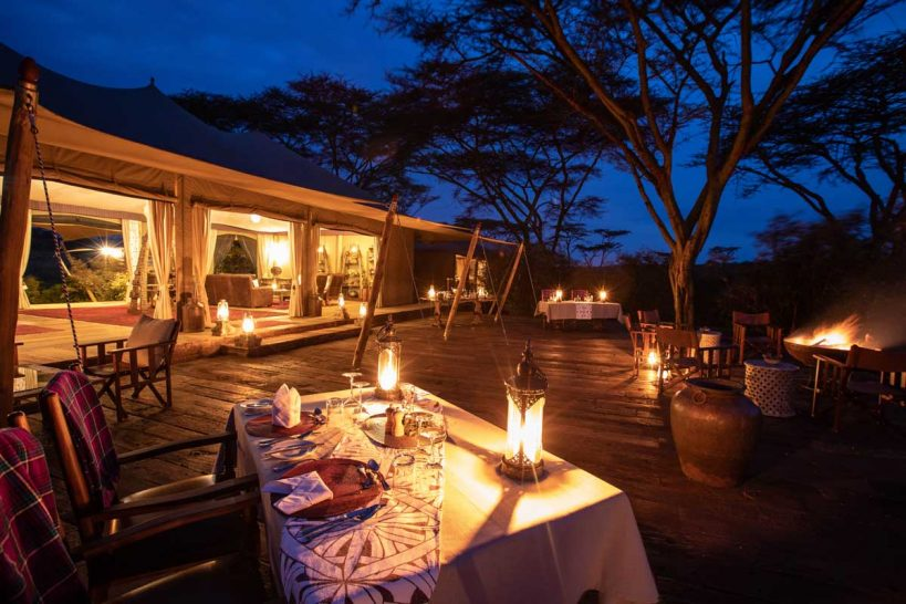 Mara Nyika, Maasai Mara Dining Deck
