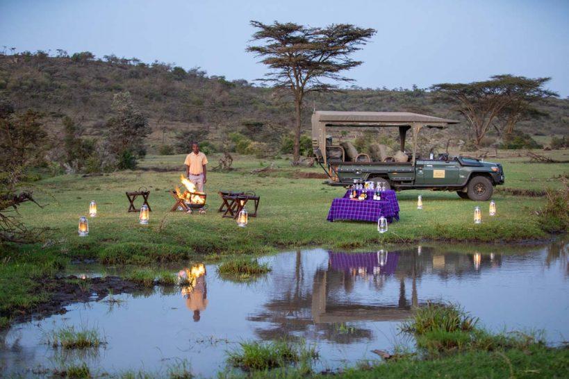 Mara Nyika, Maasai Mara Sundowners