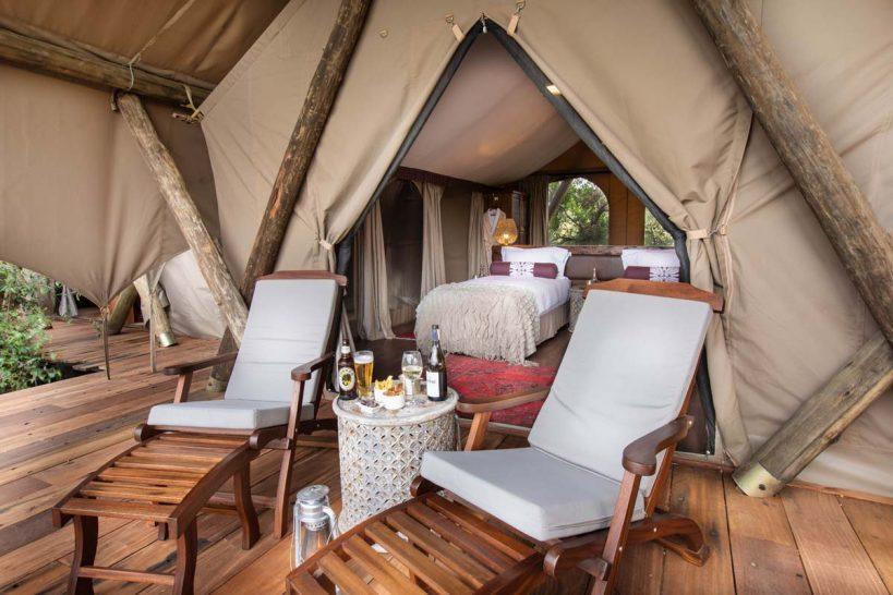 Mara Nyika, Maasai Mara Tents Twin Bedroom