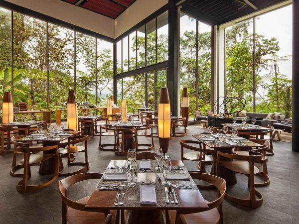 Mashpi Lodge The Restaurant