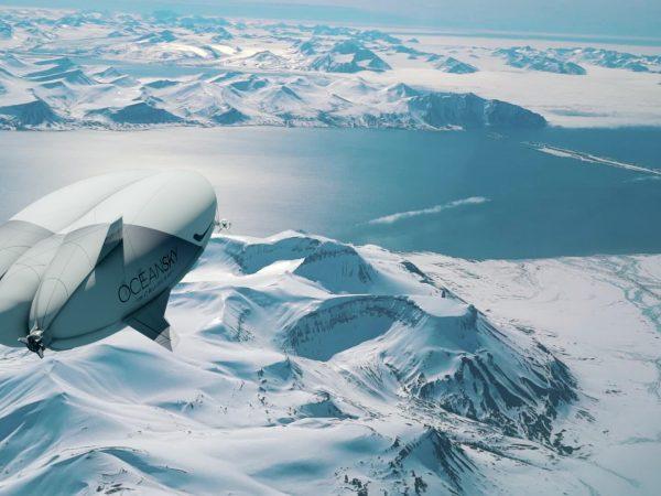 Oceansky Cruises Hybrid Aircraft Airlander