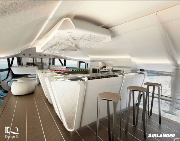 Oceansky Cruises Hybrid Aircraft Airlander Bar