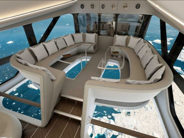 Oceansky Cruises Hybrid Aircraft Airlander Interior