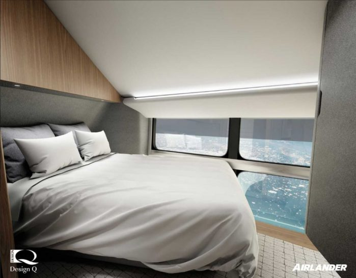 Oceansky Cruises Hybrid Aircraft Airlander Room