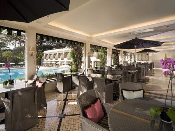 Palacio Estoril Hotel Golf and Spa Bougainvillea Terrace
