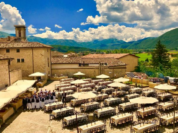 Palazzo Seneca Dining