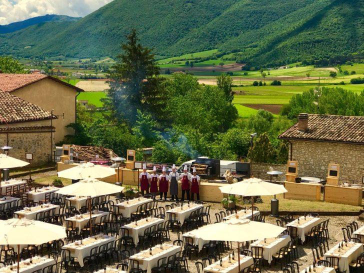 Palazzo Seneca Outdoor Dining