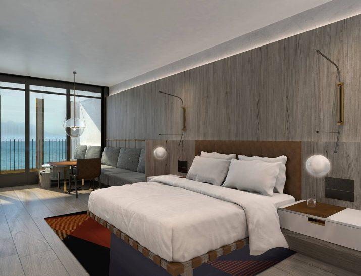 Park Hyatt Auckland 1 King Bed Balcony