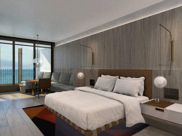 Park Hyatt Auckland 1 King Bed Harbour View Deluxe