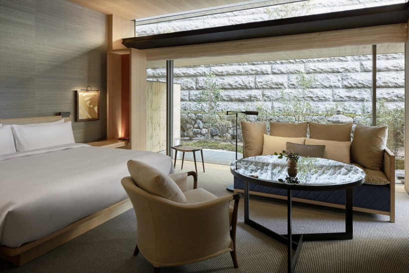 Park Hyatt Kyoto 1 King Bed Garden Terrace