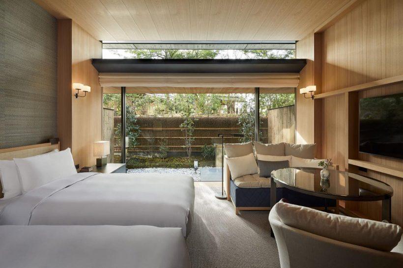 Park Hyatt Kyoto 2 Twin Beds Garden Terrace