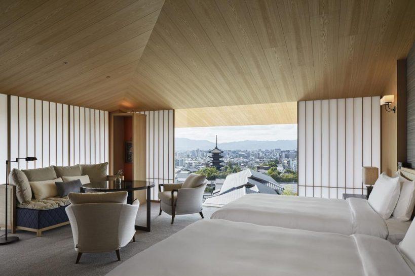 Park Hyatt Kyoto 2 Twin Beds View Deluxe