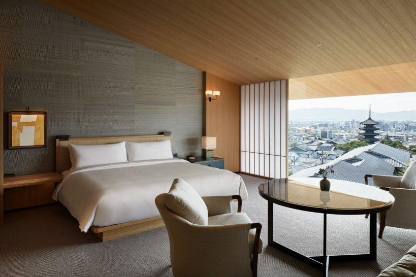 Park Hyatt Kyoto King Bed View Deluxe RoomPark Hyatt Kyoto King Bed View Deluxe Room