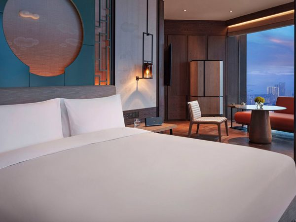 Park Hyatt Shenzhen 1 King Bed with Skyline View Deluxe