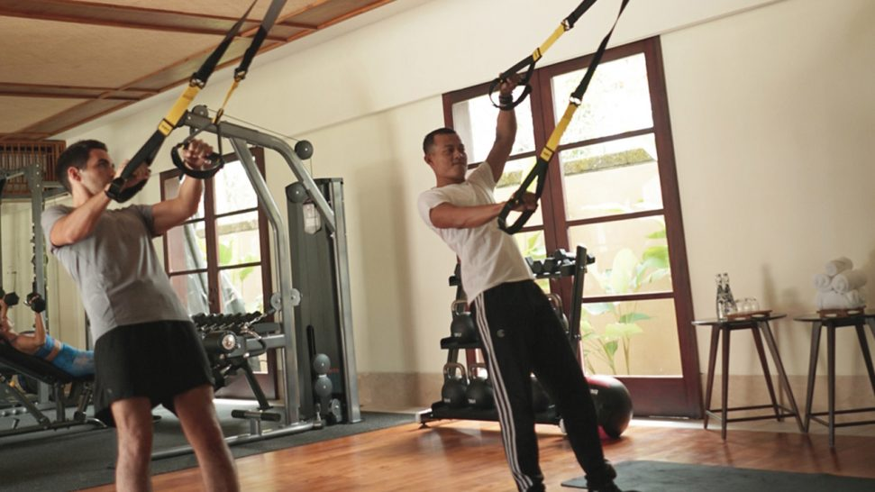 Revivo Wellness Resort Bali Gym
