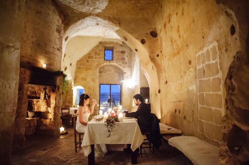 Sextantio Le Grotte Della Civita Cave Dining