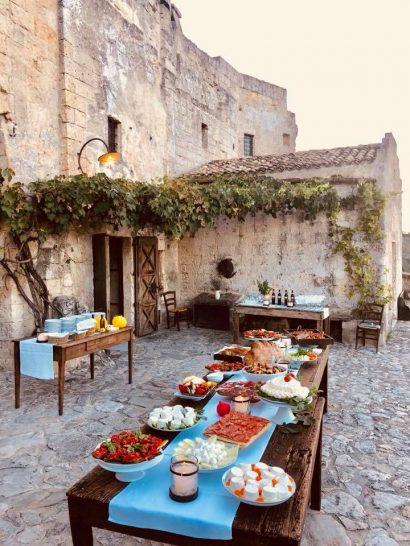 Sextantio Le Grotte Della Civita Dining