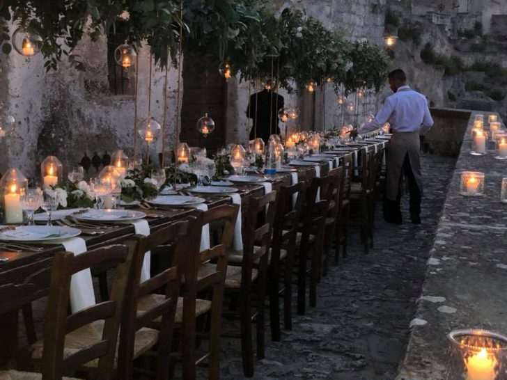 Sextantio Le Grotte Della Civita Sunset Dining