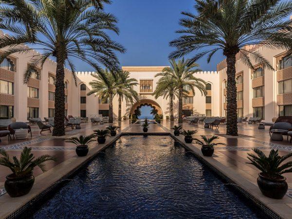 Shangri-La Al Husn Resort and Spa Courtyard